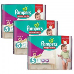 Pampers - Giga Pack 120 Couches Active Fit Pants taille 5 sur Les Couches