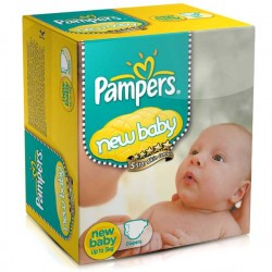 LesCouches Maxi Giga Pack 288 couches Pampers New Baby Dry