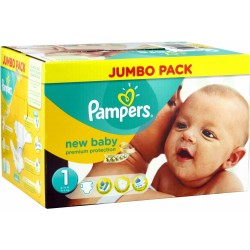 Pampers - 280 Couches New Baby taille 1